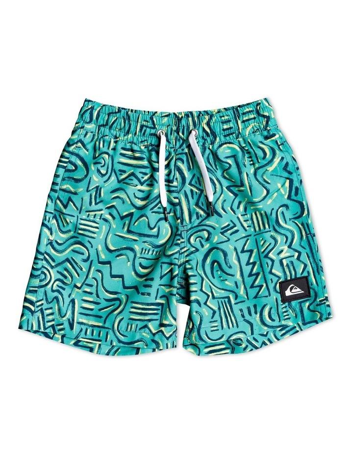 """Tropical Brush 12"""" Swim Shorts image 1"""