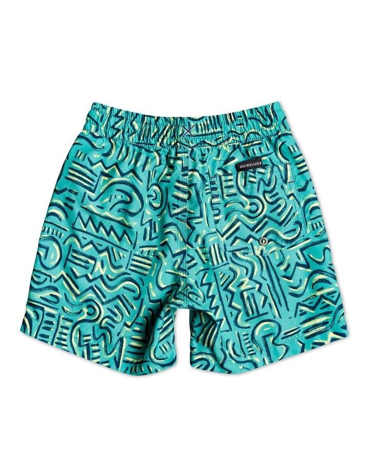 """Tropical Brush 12"""" Swim Shorts image 2"""