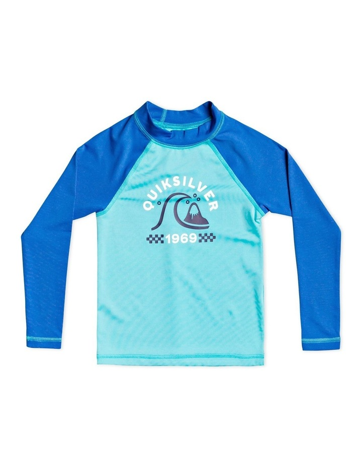 Tropical Bubble Boy - Long Sleeve UPF 50 Rash Vest for Boys 2-7 image 1