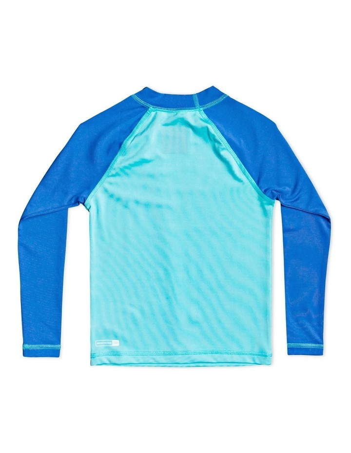 Tropical Bubble Boy - Long Sleeve UPF 50 Rash Vest for Boys 2-7 image 2