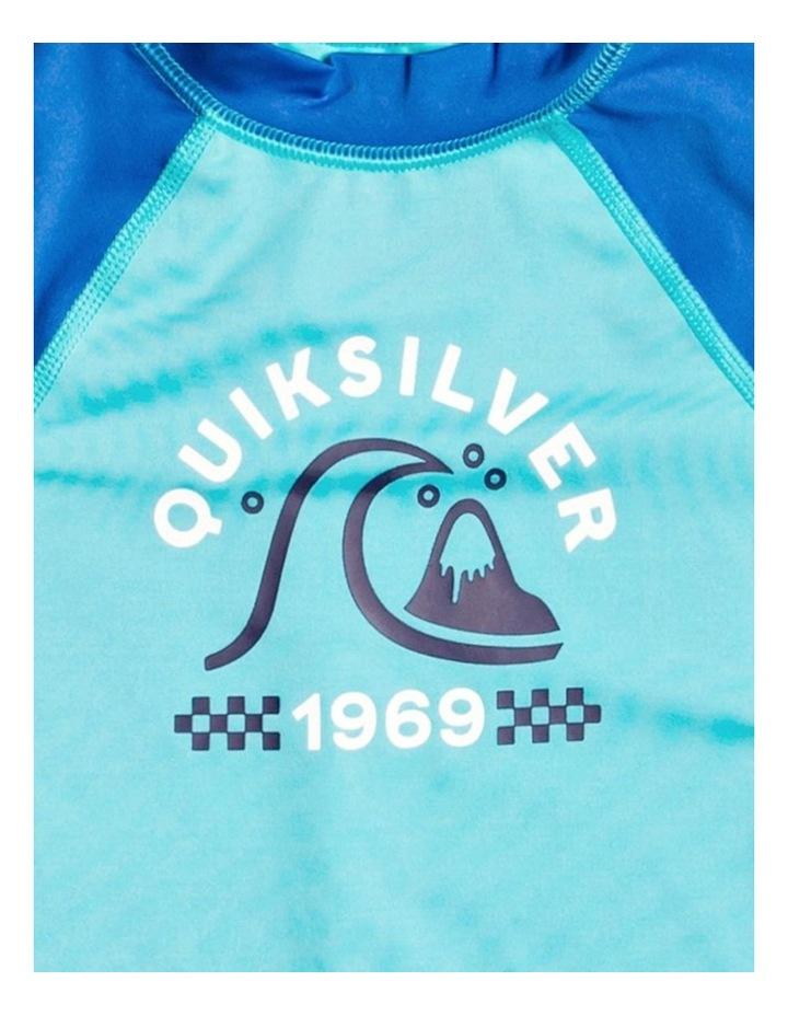 Tropical Bubble Boy - Long Sleeve UPF 50 Rash Vest for Boys 2-7 image 3