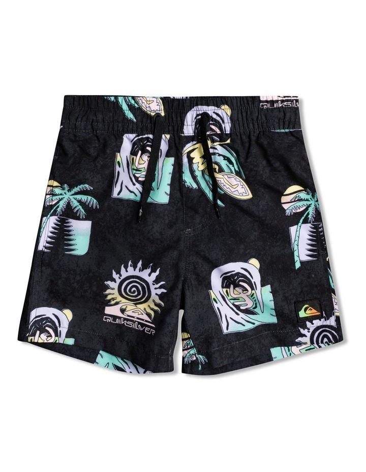 "Island Pulse 12"" - Swim Shorts for Boys 2-7 image 1"