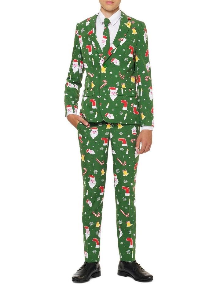 Teen Boys Santaboss Christmas Suit image 1