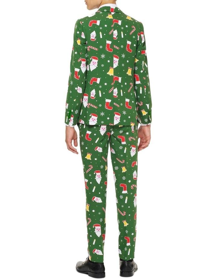 Teen Boys Santaboss Christmas Suit image 2