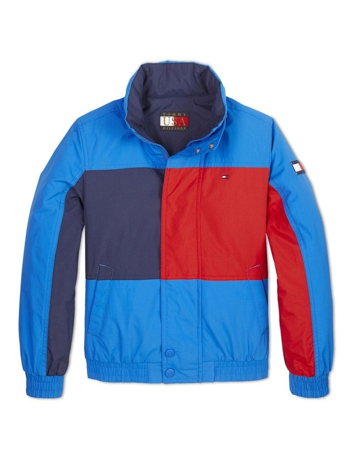 Boys 0-2 Reversible Colour-Blocked Jacket image 1