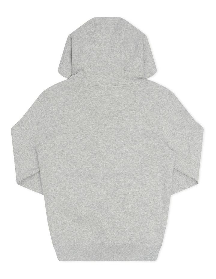 Script Hoodie Grey image 2
