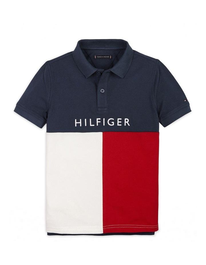 Boys 8-16 Hilfiger Colourblock Polo Shirt image 1
