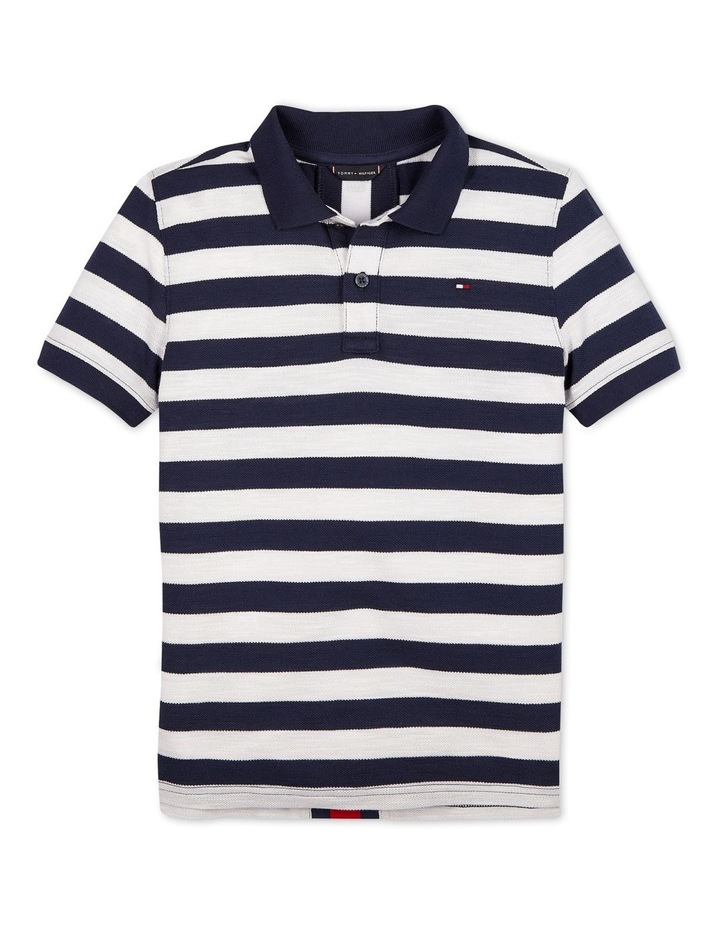 All-Over Stripe Polo image 1