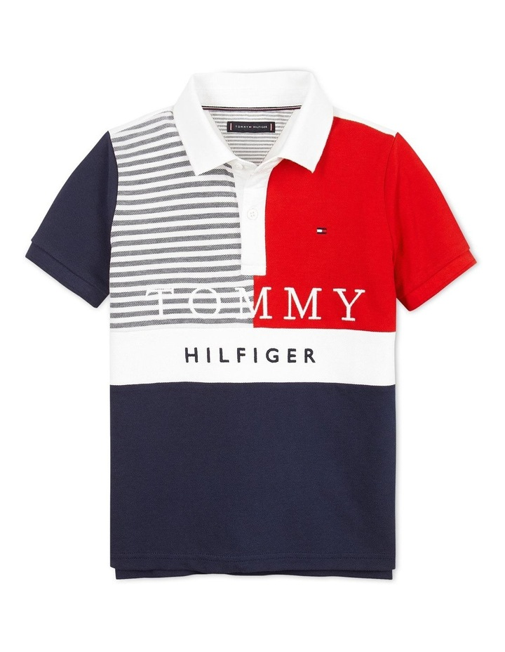 Ithaca Colourblock Polo Short Sleeve image 1