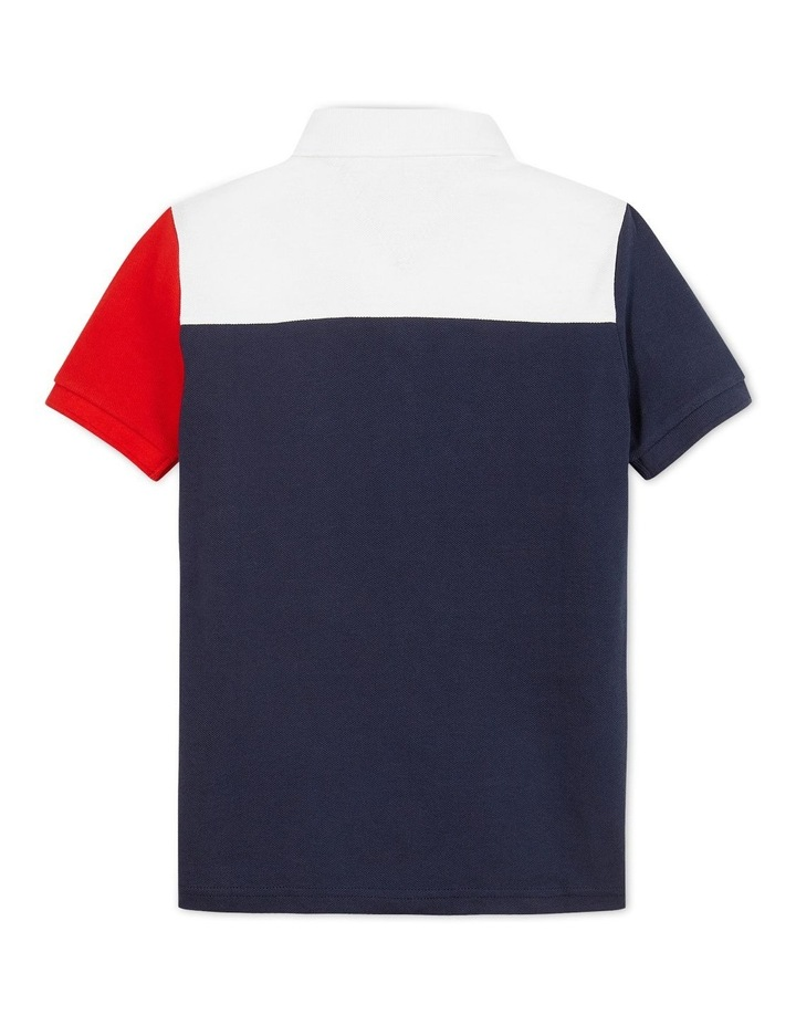 Ithaca Colourblock Polo Short Sleeve image 2