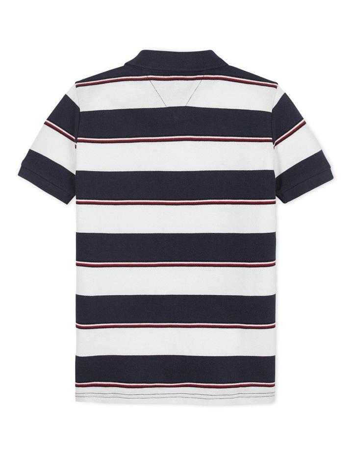 Global Stripe Detail Polo Short Sleeve image 2
