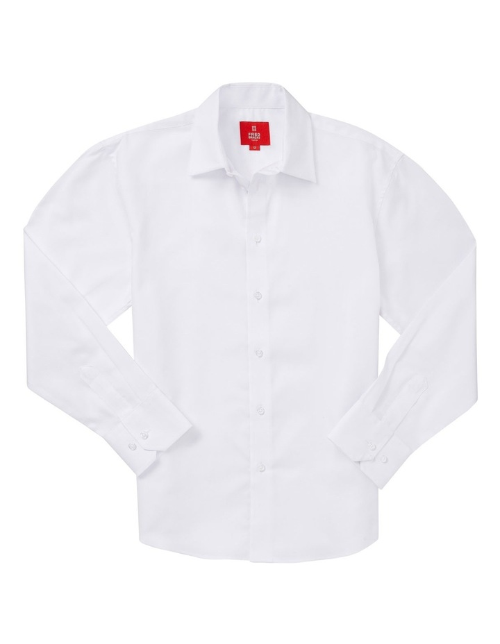 Nailhead Shirt White 8-16 image 1
