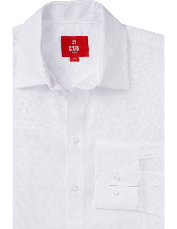 Nailhead Shirt White 8-16 image 2