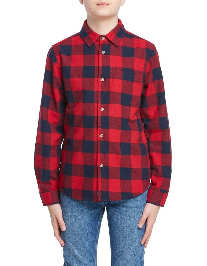 Boys Check Shirt image 1