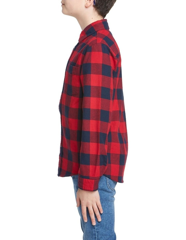 Boys Check Shirt image 2