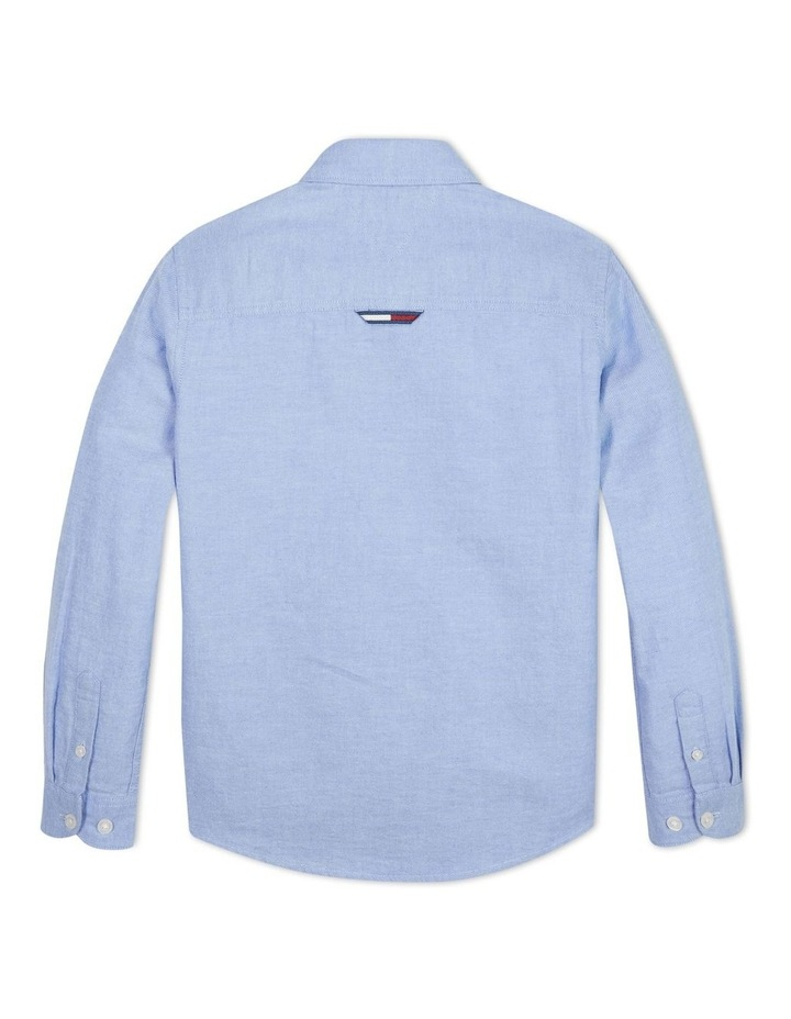 Boys 0-2 Essential Brushed Cotton Oxford Shirt image 2