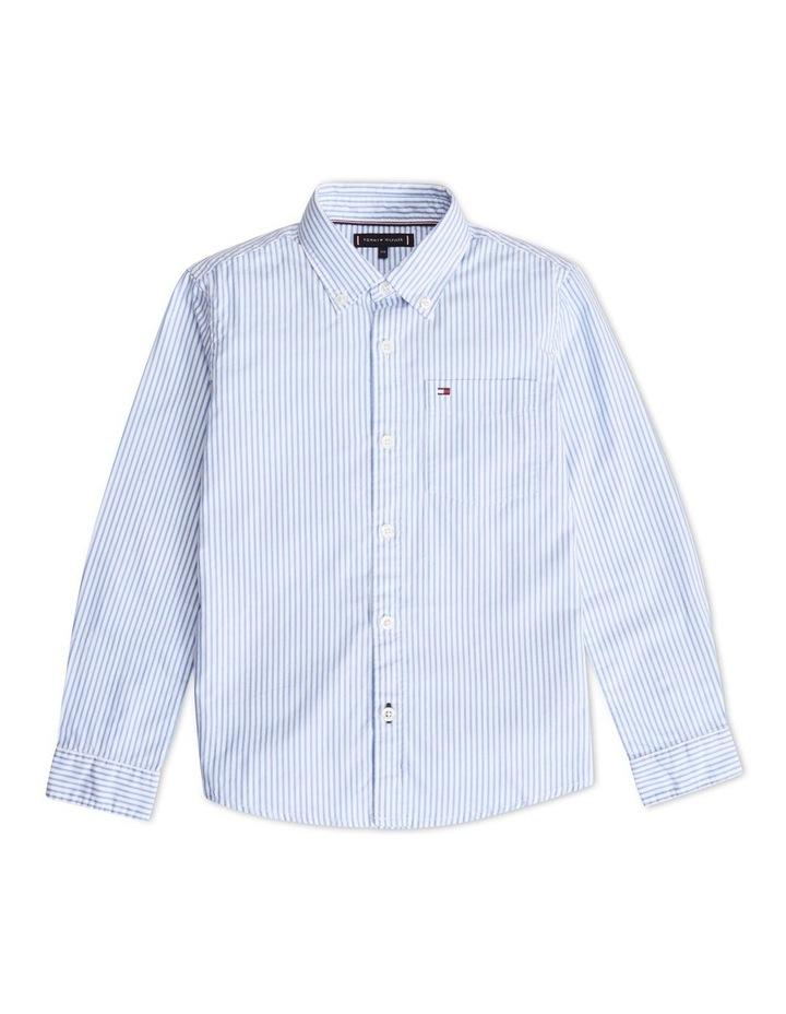 Boys 8-16 Essential Stripe Shirt image 1