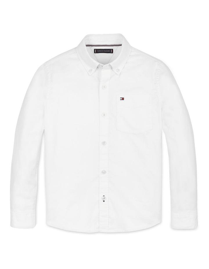 Boys 8-16 Back Detail Oxford Shirt image 1
