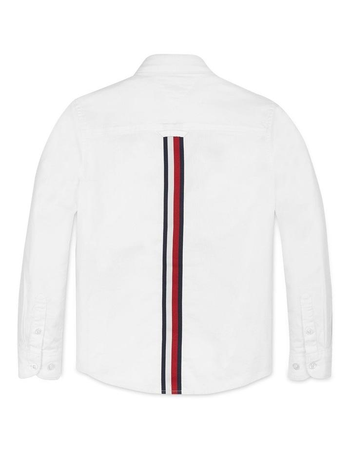 Boys 8-16 Back Detail Oxford Shirt image 2