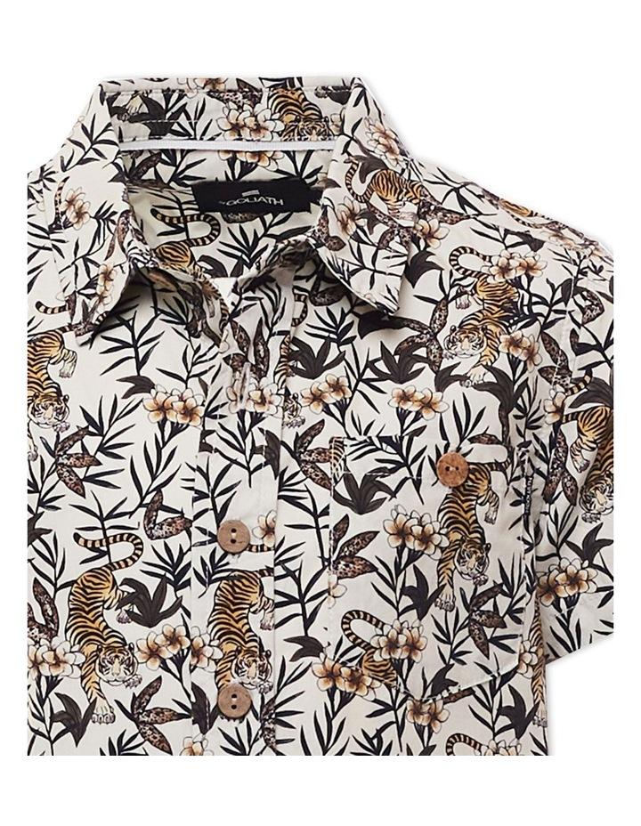 Lost Short Sleeve Shirt 8-16 Boys image 3