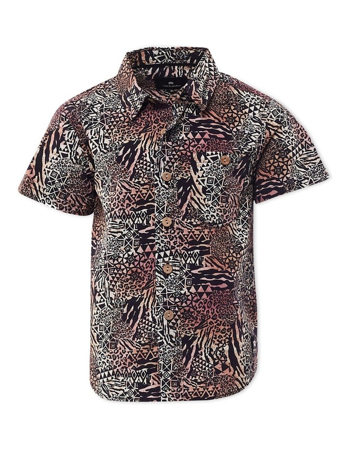 Safari Short Sleeve Shirt 8-16 Boys image 1