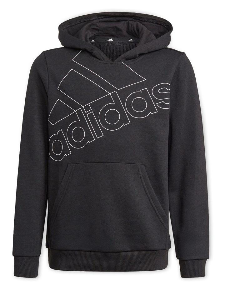 Boys Adidas Essentials Logo Hoodie image 1