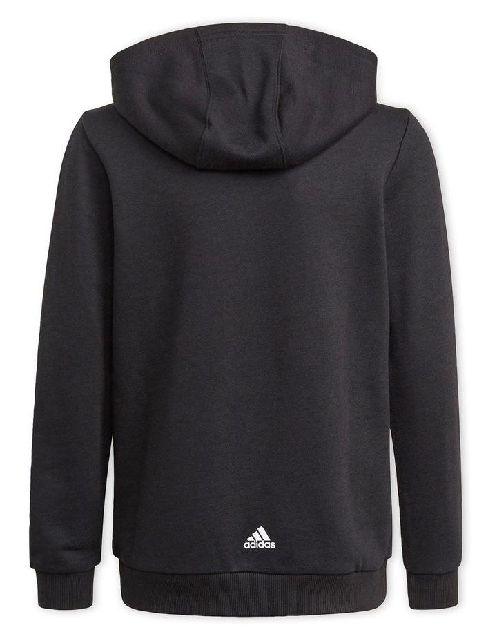Boys Adidas Essentials Logo Hoodie image 2