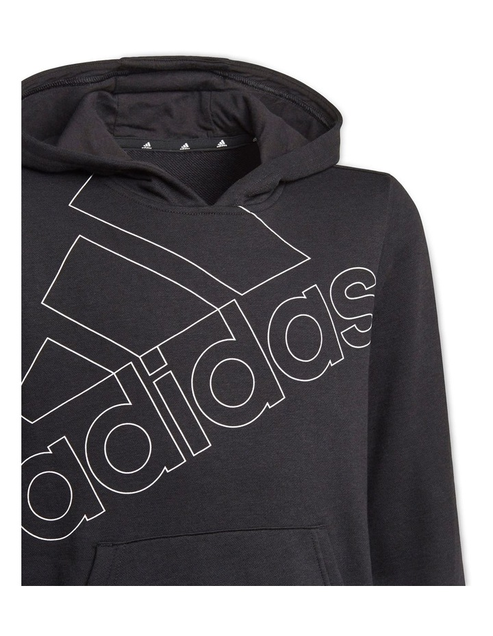 Boys Adidas Essentials Logo Hoodie image 4