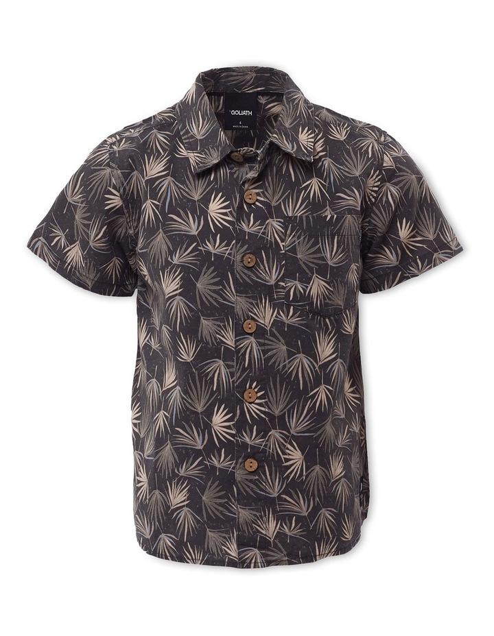 Fern Charcoal Short Sleeve Shirt image 1