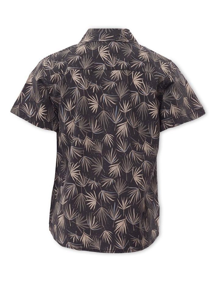 Fern Charcoal Short Sleeve Shirt image 2