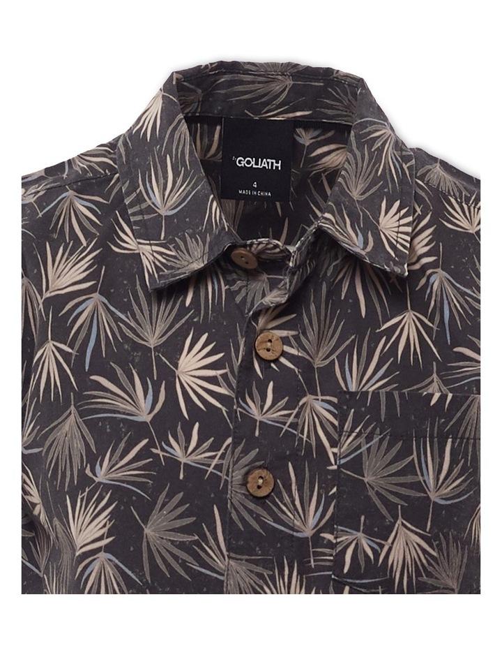 Fern Charcoal Short Sleeve Shirt image 3
