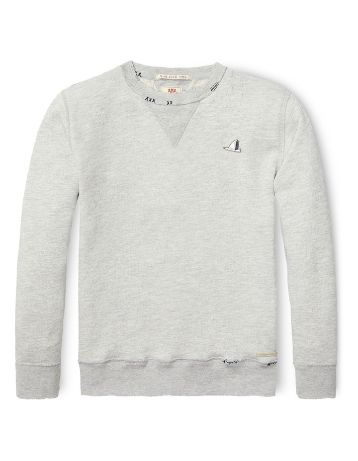 Vintage Inspired Sweat with Repairs image 1