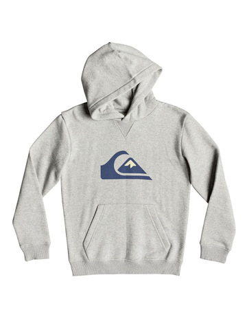 84003dc6bf3 QuiksilverBig Logo Hood Youth Fleece Top. Quiksilver Big Logo Hood Youth  Fleece Top