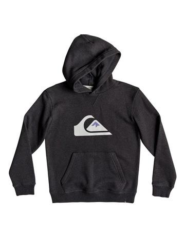 5ee9f3f4da4592 Quiksilver Big Logo Hood Youth Fleece Top