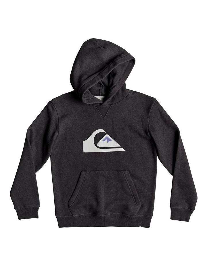 Big Logo Hood Youth Fleece Top image 1