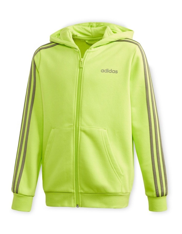 Youth Boys Essentials 3 Stripes Full Zip H image 1