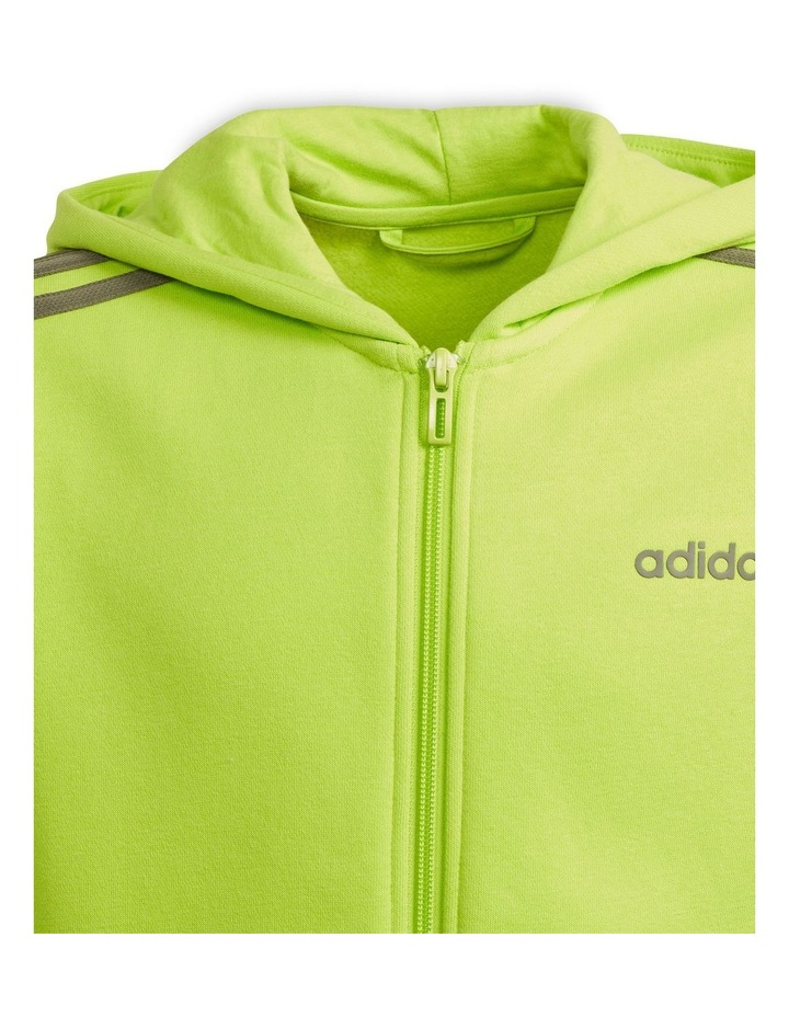 Youth Boys Essentials 3 Stripes Full Zip H image 4