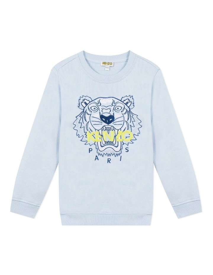 Embroidered Tiger Sweat (8-12) image 1