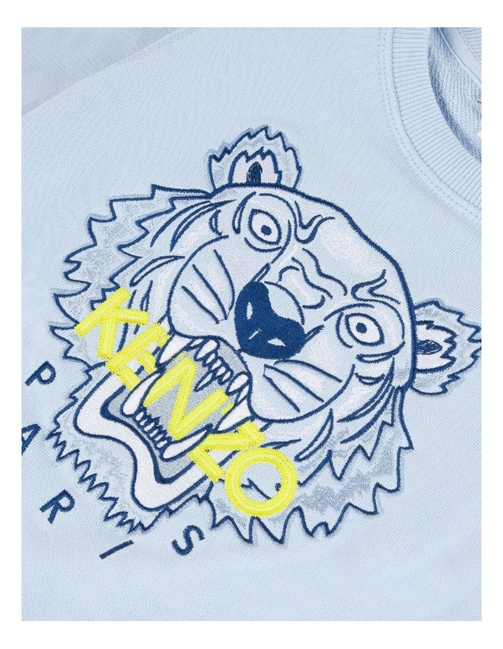 Embroidered Tiger Sweat (8-12) image 3