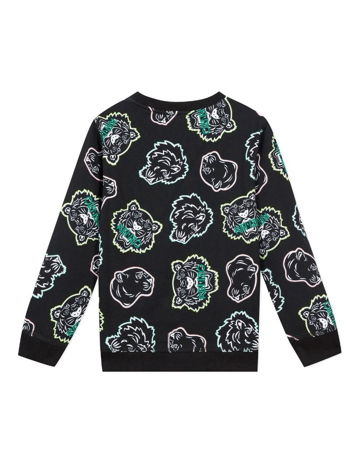 Tiger And Friends All-Over Print Sweat - Jallen (14) image 2