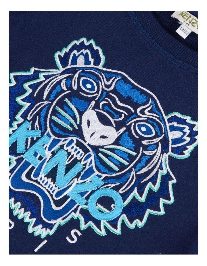 Embroidered Tiger Sweat - JB B2 (8-12) image 3