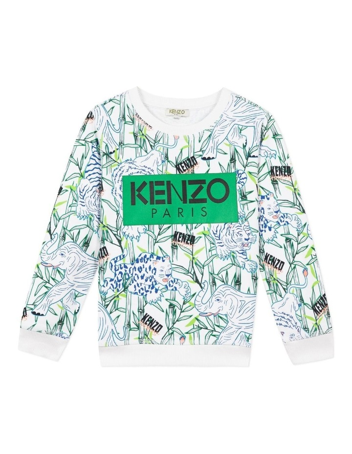 Patch Logo All Over Print  Sweat - Jake (8-12) image 1