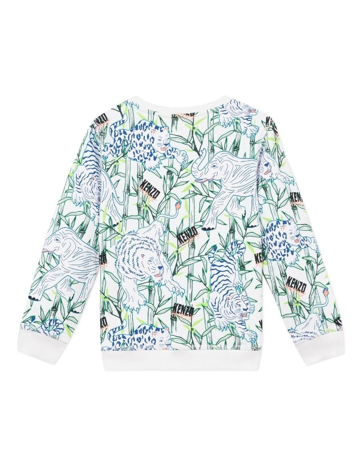 Patch Logo All Over Print  Sweat - Jake (8-12) image 2