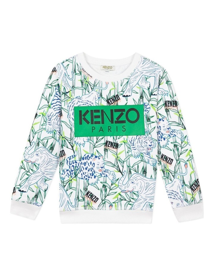 Patch Logo All Over Print  Sweat - Jake (14) image 1