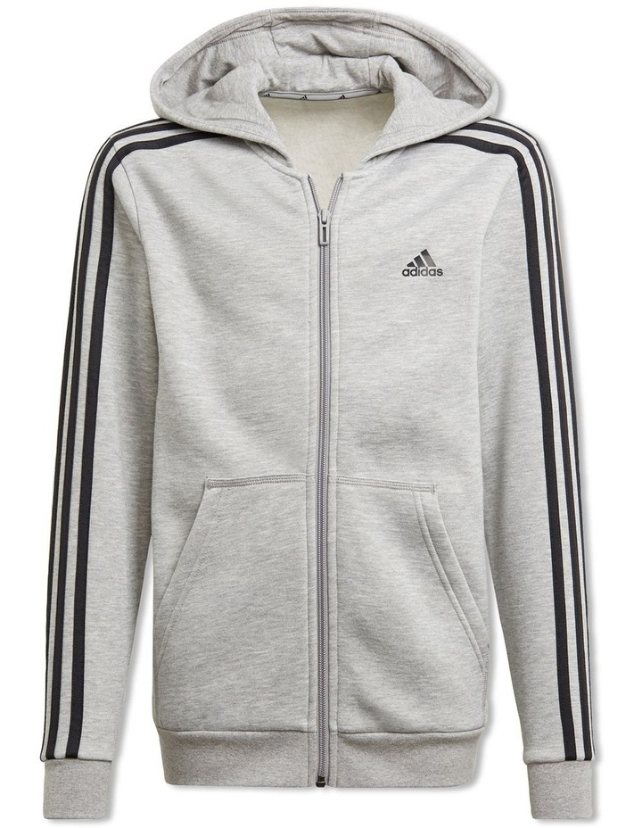 Boys Essentials 3 Stripes Hoodie image 1