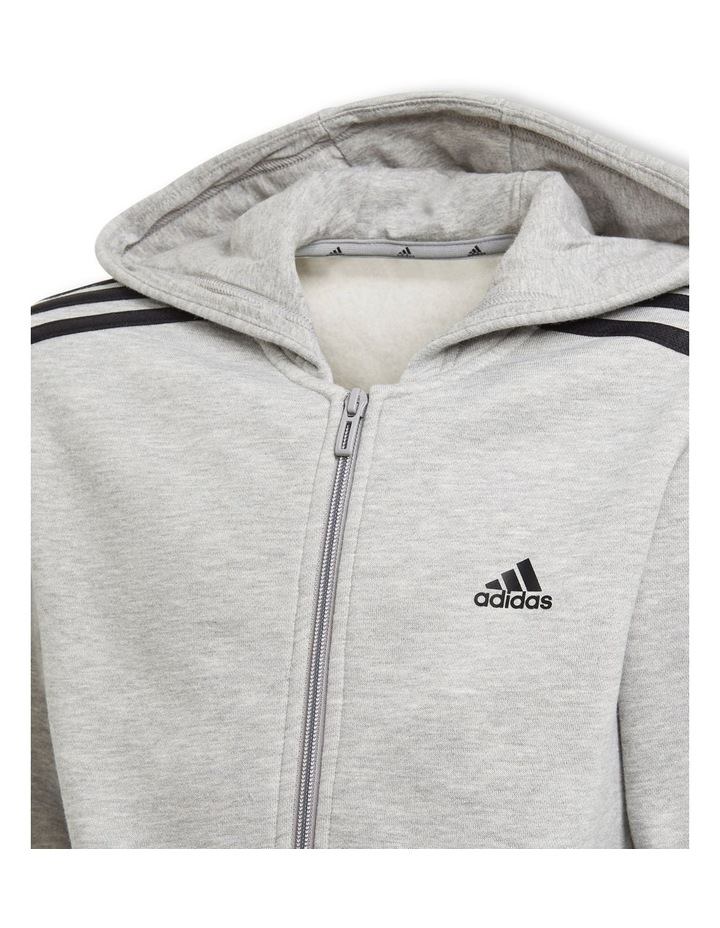 Boys Essentials 3 Stripes Hoodie image 5