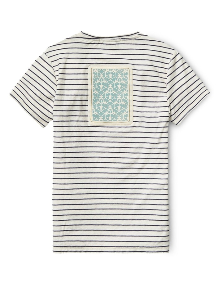 Tee with Worked Out Embroidered Artworks image 2