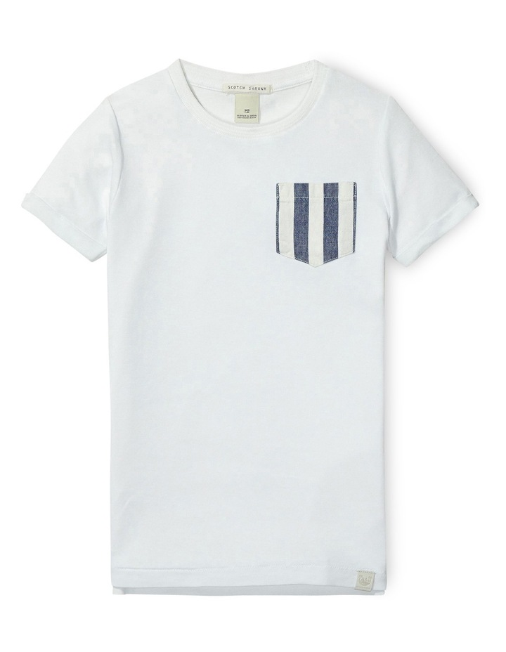 Short Sleeve Tee with Allover Details image 1