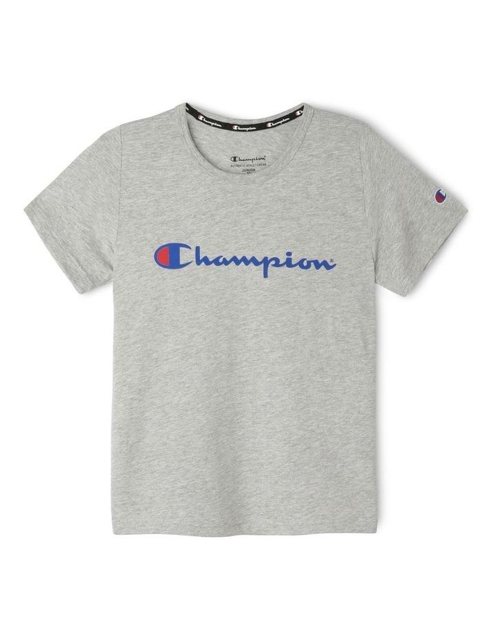 Champion Script Short Sleeve Tee image 1