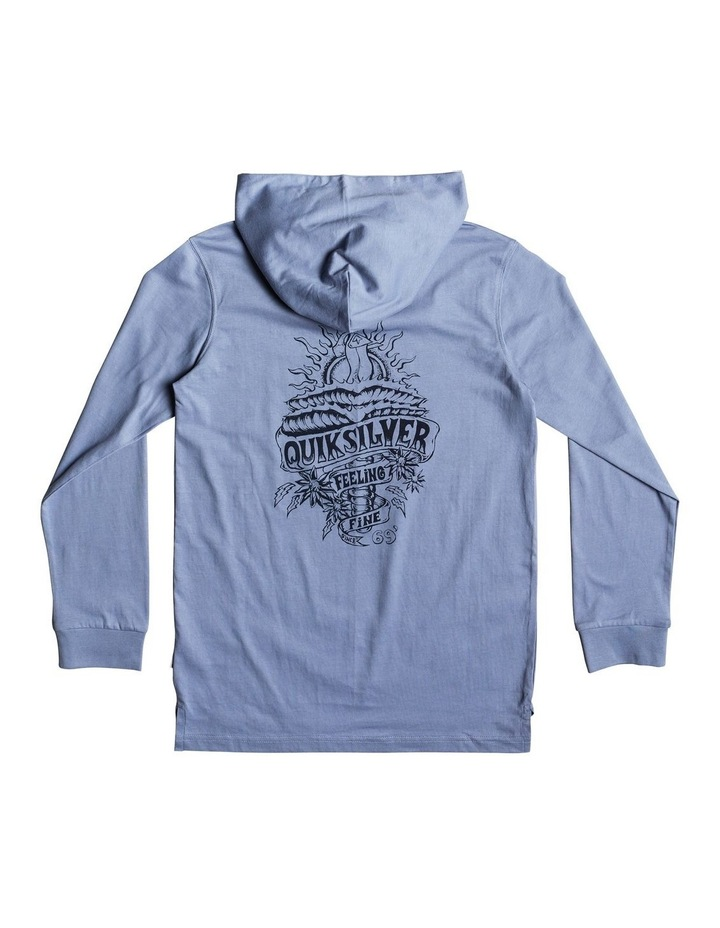 Tattered Hoodie Yth Screen Tee image 2